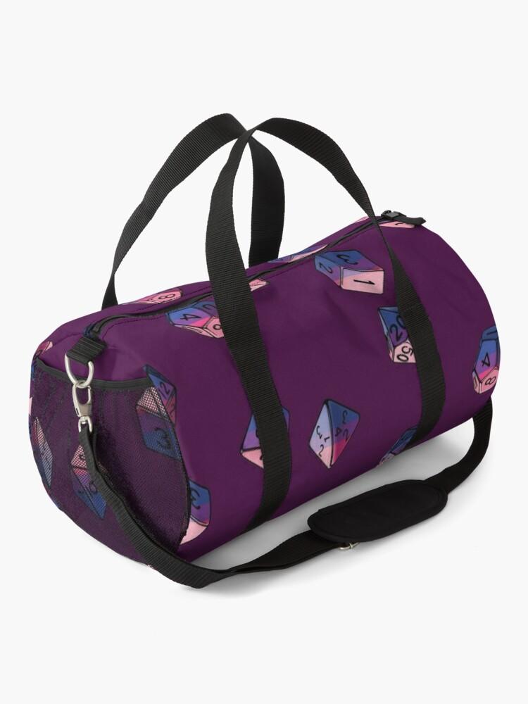 Alternate view of Pride Dice Set: Bisexual Duffle Bag