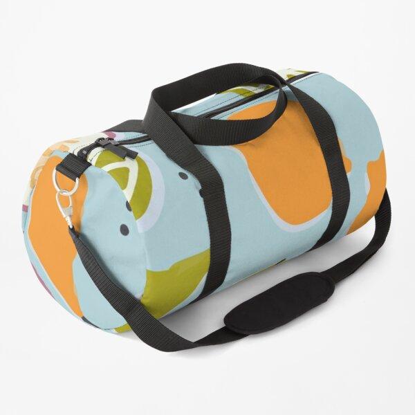 Watercolor avocado pattern Duffle Bag