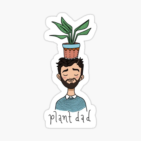 plant dad Sticker