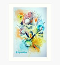 Bulle 1, featured in Painters Universe Art Print