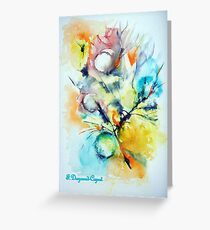 Bulle 1, featured in Painters Universe Greeting Card