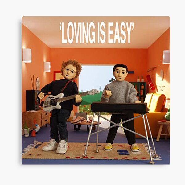 Rex Orange County - Loving is Easy Album Cover Canvas Print