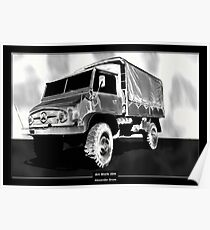 Art Work 204 Mercedes Unimog Poster
