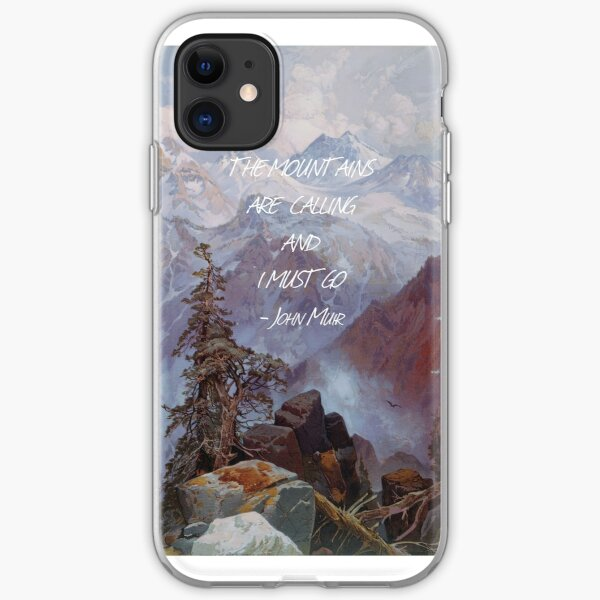 The Mountains Are Calling iPhone Soft Case