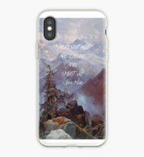 Vinilo o funda para iPhone Las montañas están llamando