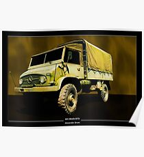 Art Work 073 Mercedes Unimog Poster