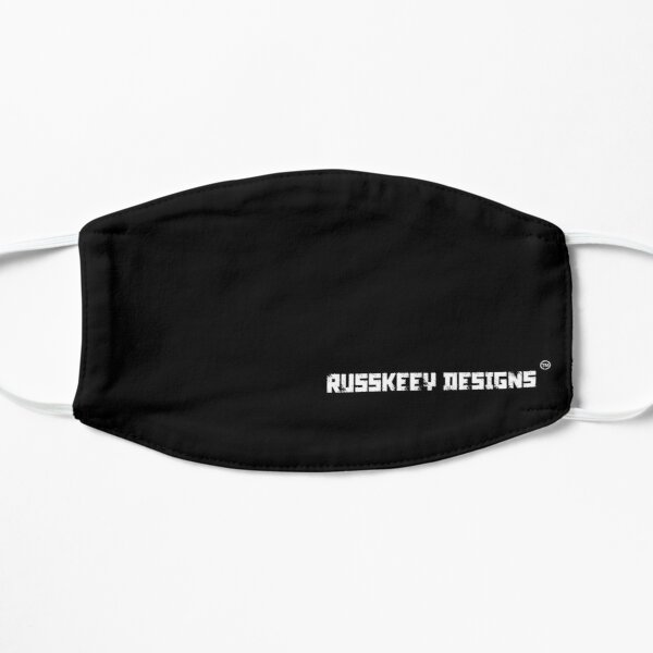 Russkeey Designs Banner (White) Mask