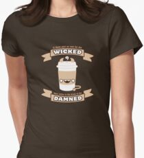 Drink of the Damned Women's Fitted T-Shirt