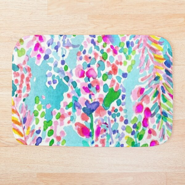 Lilly Pulitzer Design Bath Mat