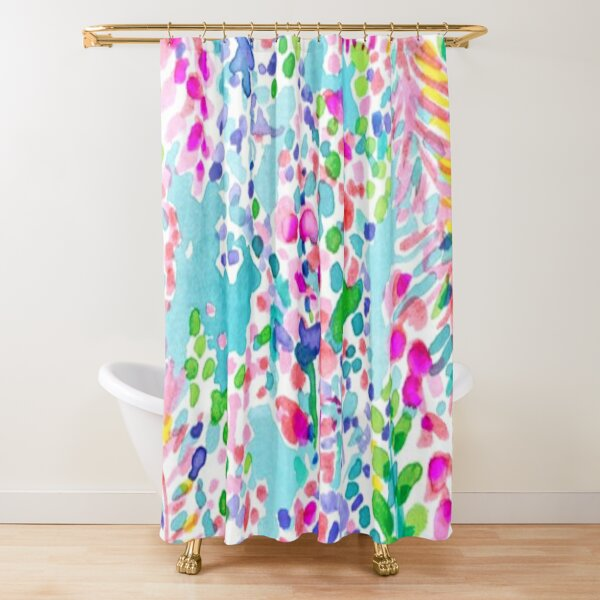 Lilly Pulitzer Design Shower Curtain