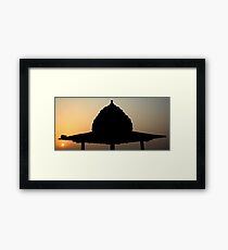 A Dome in Morning Framed Print