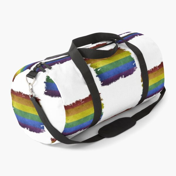 LGBT GLBT Flag, Flag Lover, Lesbian Gifts, Gay Gifts, Bisexual Gifts, Transgender Gifts Duffle Bag