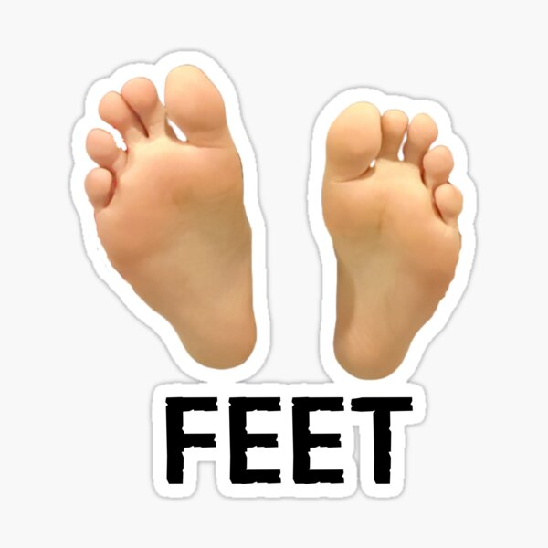 Feet fetish stickers