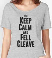 Keep Calm and Fell Cleave Women's Relaxed Fit T-Shirt