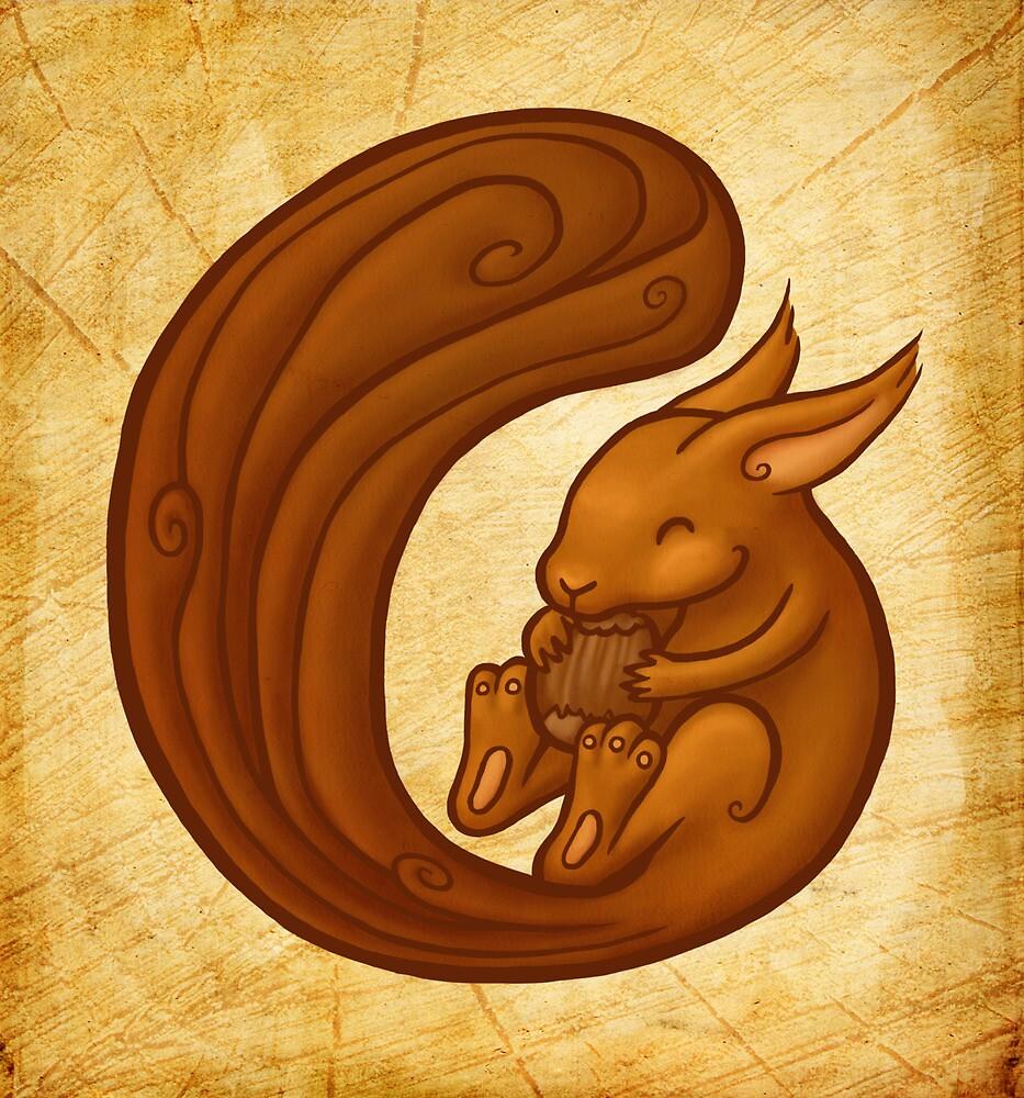 Squirrel by Ine Spee