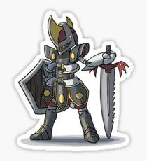 Final Fantasy - Bisharp Warrior Sticker