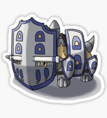 Final Fantasy - Bastiodon Defender Sticker