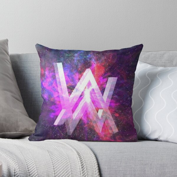 Walker Alan Throw Pillow