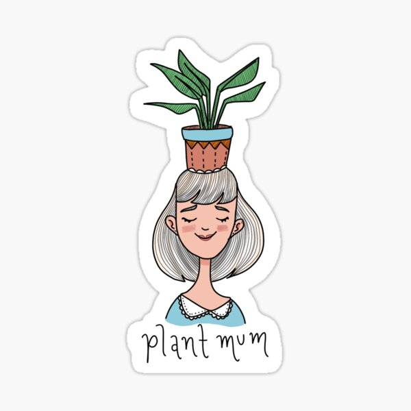 plant mum Sticker