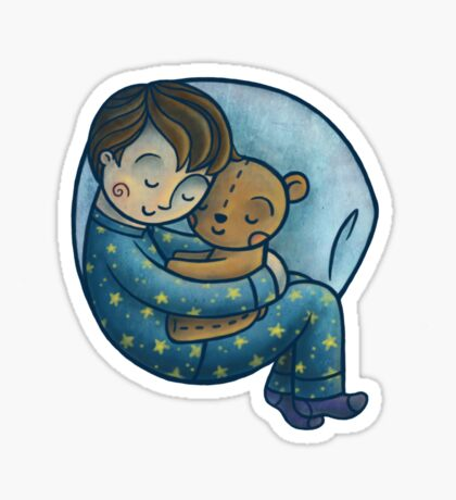 Sleeping Sticker