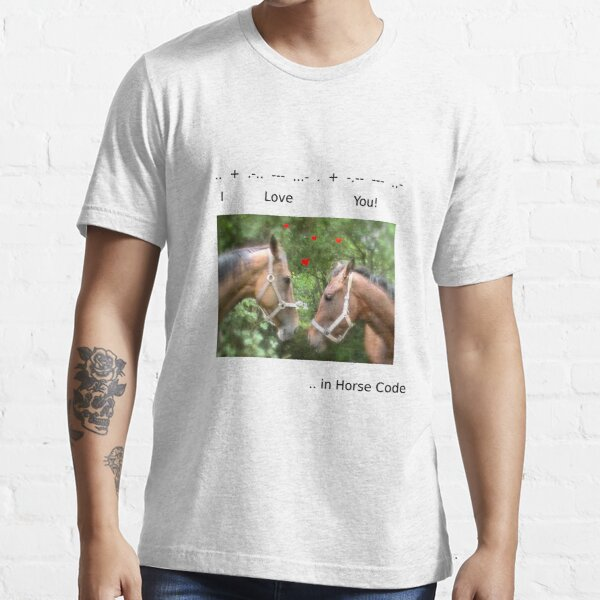 HORSE CODE  Essential T-Shirt