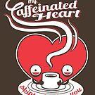 « Mon coeur caféiné » par murphypop