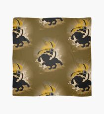 Super Smash Bros. Brown Duck Hunt Dog Silhouette Scarf