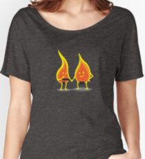 Naked Flames Women's Relaxed Fit T-Shirt