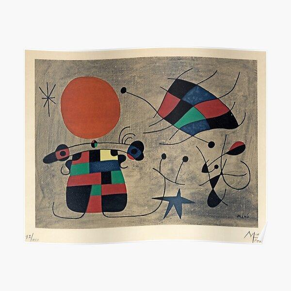 Peinture de Joan Miro Poster