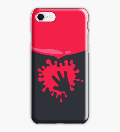 Whoops - Splash on the Hand VRS2 iPhone Case/Skin