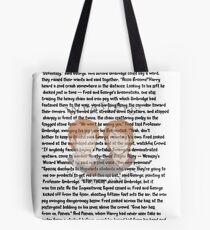 Fred and George Weasley Tote Bag