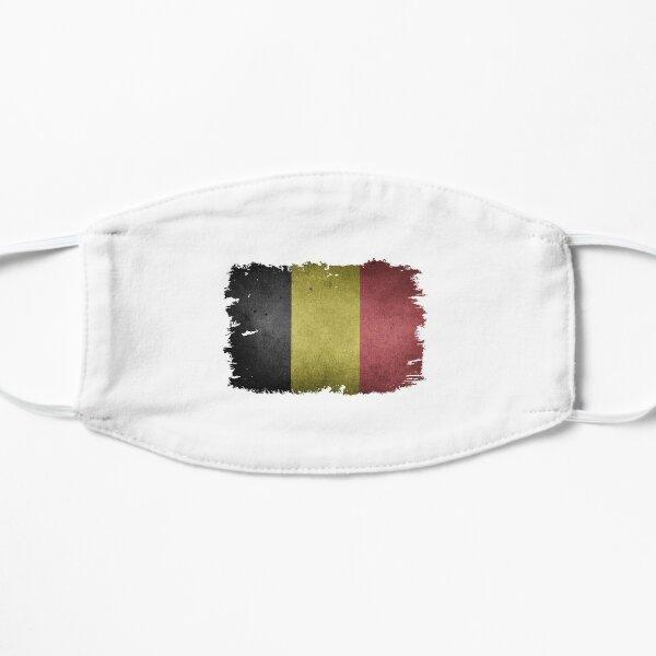 Drapeau Belgique National - Cadeaux pour les amoureux des drapeaux - Drapeau belge Masque sans plis