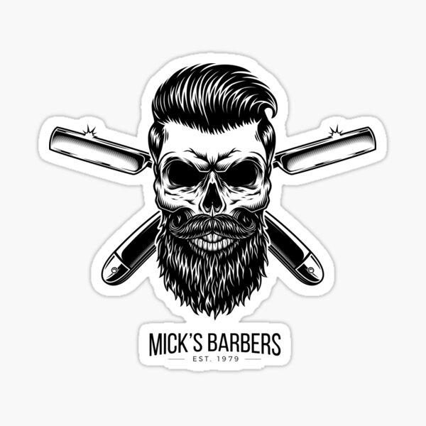 Dead Barber Sticker