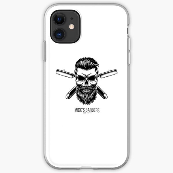 Dead Barber iPhone Soft Case