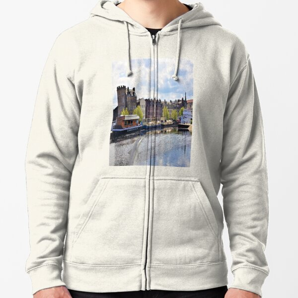 Leith Docks Georgian Edinburgh Zipped Hoodie