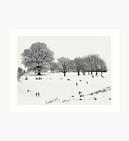 Tribute To Lowry Art Print