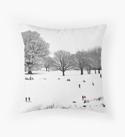 Tribute To Lowry Throw Pillow