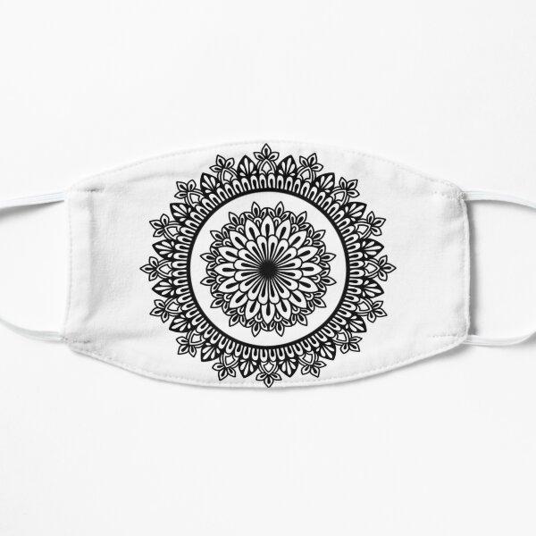 Floral Black Mandala Mask