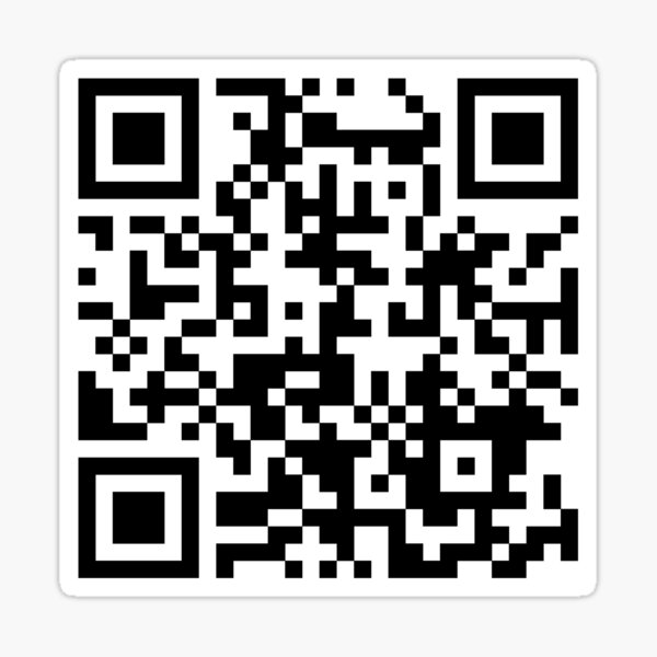Avatar: The Last Airbender Theme QR Code  Sticker