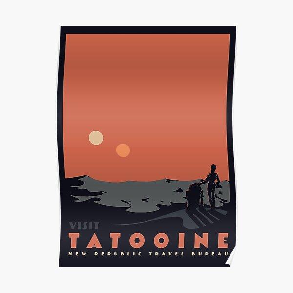 visiter tatooine Poster