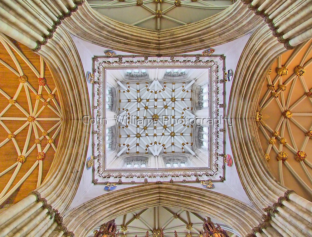 The Tower - York Minster - HDR by Colin  Williams Photography