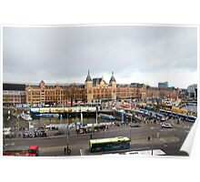 Amsterdam Centraal Poster