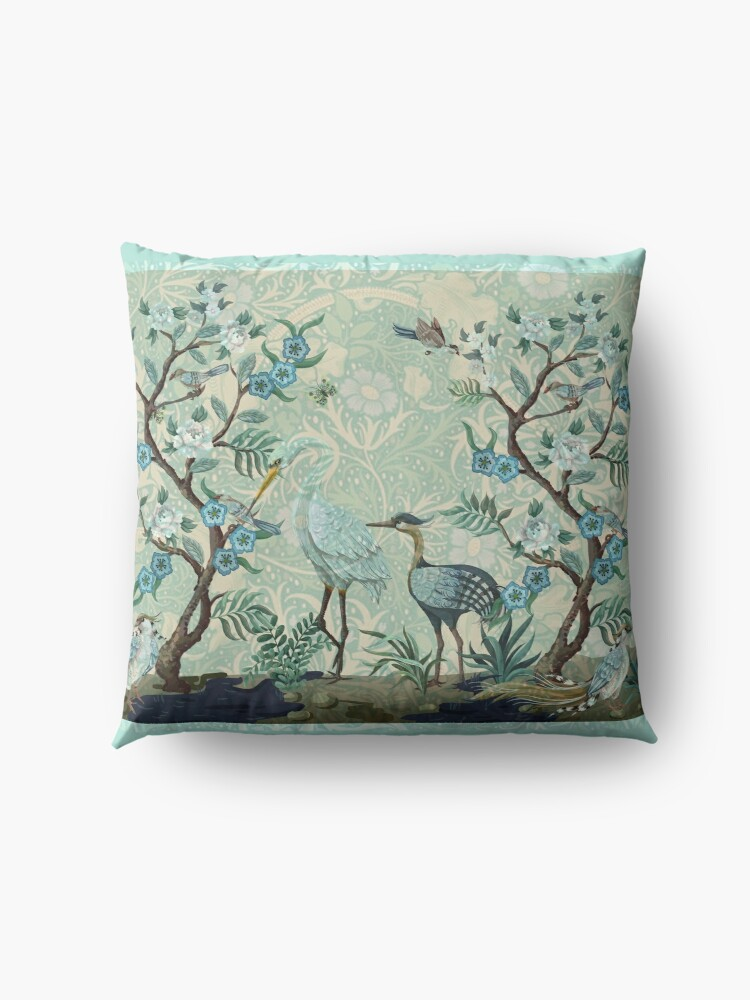 Alternate view of The Chinoiserie Panel Floor Pillow