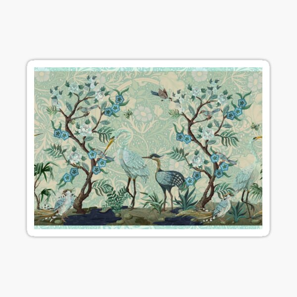The Chinoiserie Panel Sticker