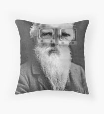 Eadweard Muybridge. Throw Pillow