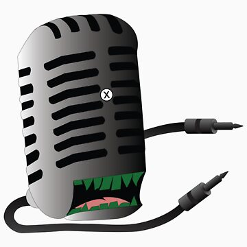 Microphone Monster by AlanGrube