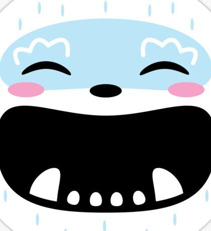 Happy Yeti Sticker