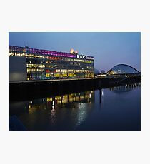 BBC, Glasgow Photographic Print