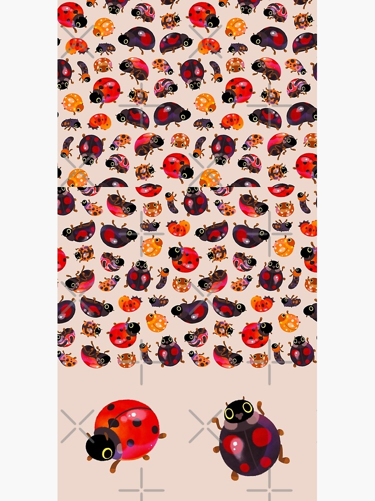 Lady beetles by pikaole