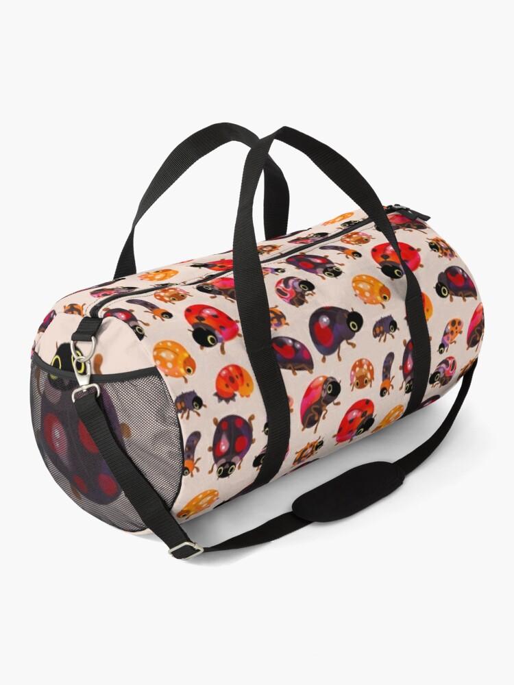 Alternate view of Lady beetles Duffle Bag